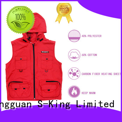 Dr. Warm care rechargeable heated vest keep you warm all day for indoor use