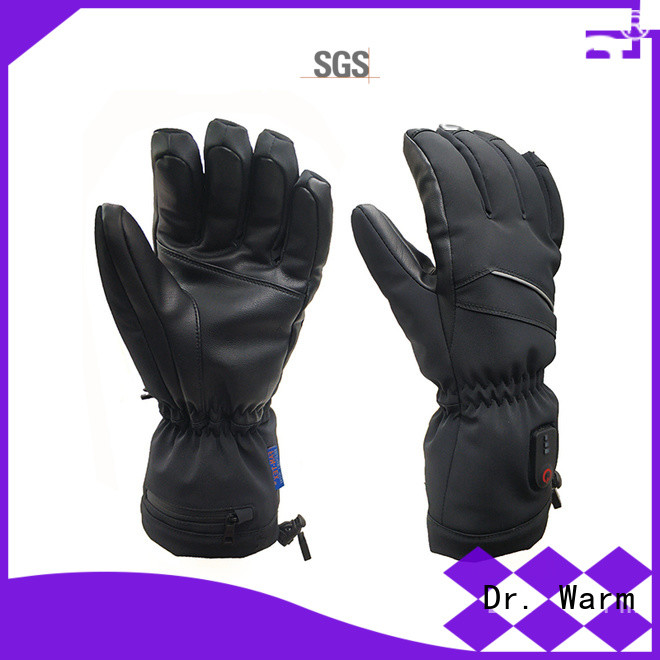 Dr. Warm women heated cycling gloves improves blood circulation for outdoor