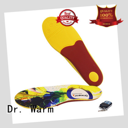 Dr. Warm control the best heated insoles lasts for 3-7hours for ice house