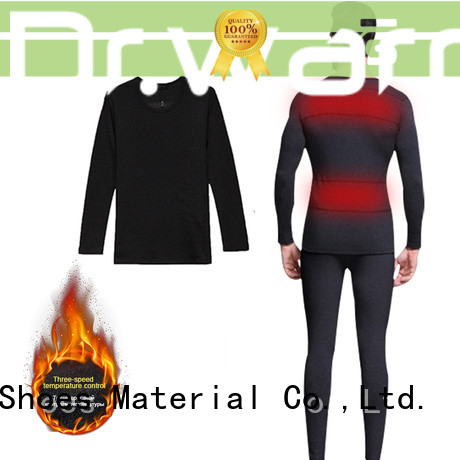Hot battery heated thermal underwear warm Dr. Warm Brand