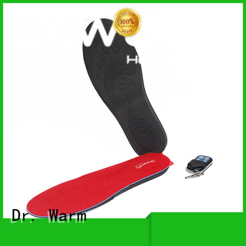Dr. Warm golfing heated bluetooth insoles suit your foot shape for winter