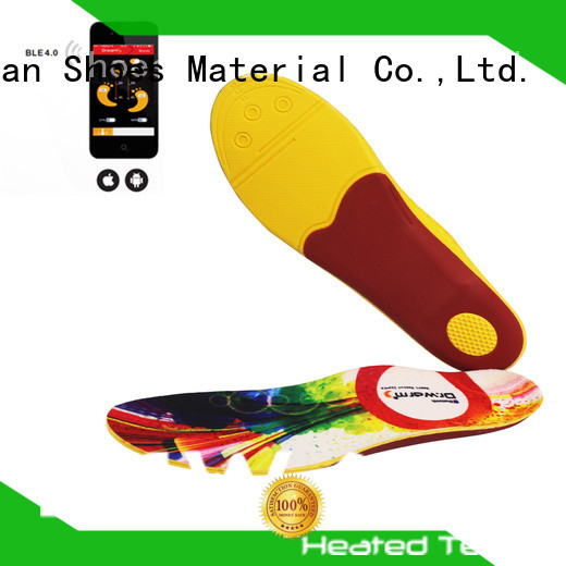 rechargeable remote control heated insoles suit your foot shape for winter