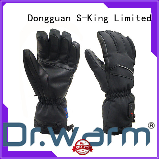Dr. Warm online rechargeable heated gloves for ice house