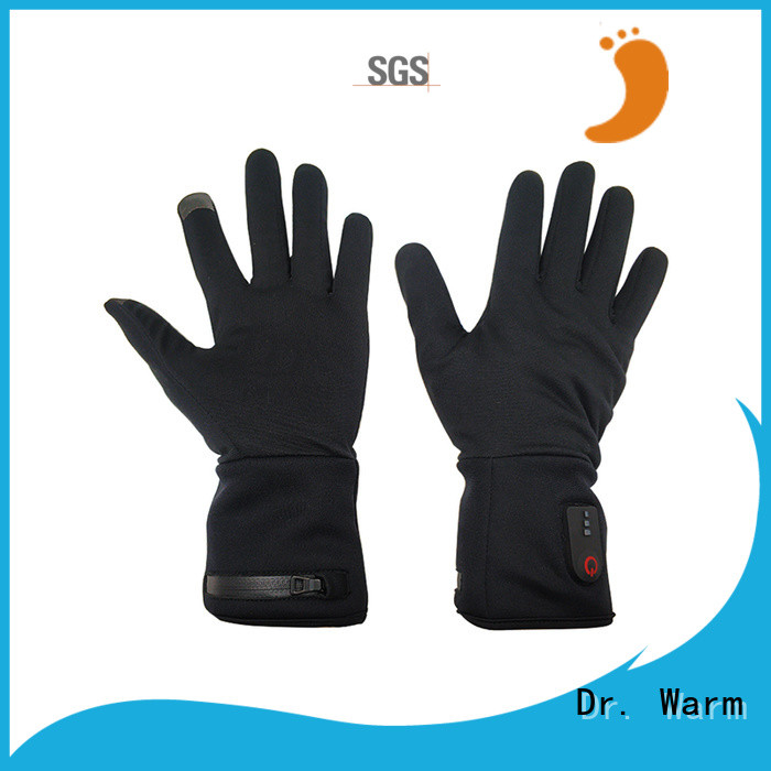 online battery heated gloves uk riding with prined pattern for outdoor