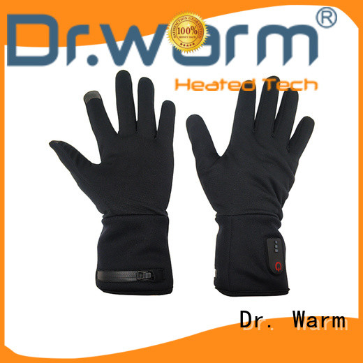 Dr. Warm sensitive best heated gloves improves blood circulation for outdoor
