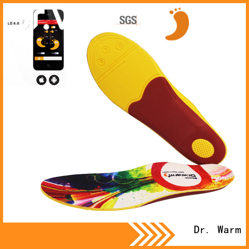 Dr. Warm foot heated sole with cotton for outdoor