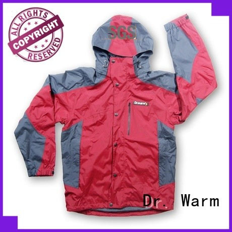 Dr. Warm grid battery operated jacket with heel cushion design for indoor use
