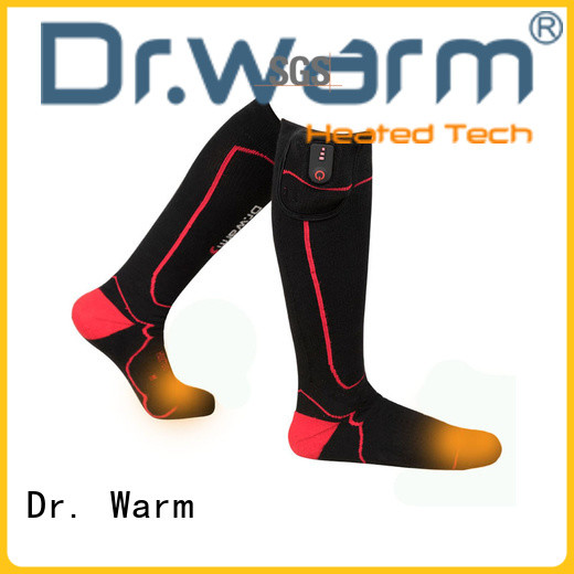 Dr. Warm soft battery operated warming socks for winter